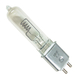 American DJ ZB-HX600 Halogen Lamp 120v/575W with GY 9.5 Socket for FS-1000
