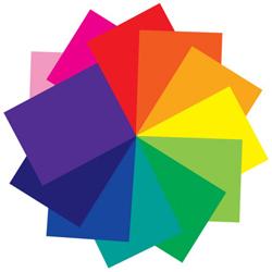 American DJ Z-PROGEL/SH/O Orange 21x24 inch Plastic Color Gel Sheet