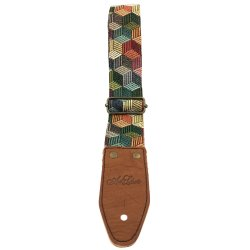 Art & Lutherie 045242 Adjustable Guitar Strap - Nevada Aztec