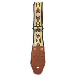 Art & Lutherie 045334 Adjustable Guitar Strap - Diablo Tan