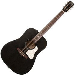 Art & Lutherie 045587 Americana Dreadnought Acoustic-Electric Guitar  Faded Black