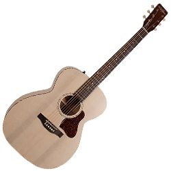 Art & Lutherie 045396 Legacy Faded Cream QIT 6 String Acoustic Electric Guitar