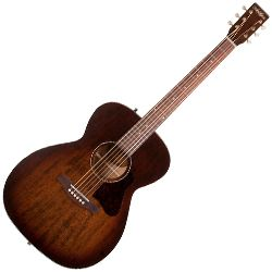 Art & Lutherie 045570 Concert Hall Legacy 6 String RH Acoustic Guitar – Bourbon Burst