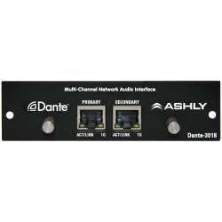 Ashly Dante 3018 Multi-Channel Network Audio Interface for Ashly Digimix18 digital console