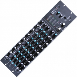 Ashly MX-508 8 input stereo mixer w/ EQ, sends
