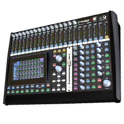 Ashly digiMIX-24 Digital Mixer with 24 Total Inputs and 14 Mix Buses