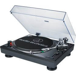 Audio-Technica AT-LP120USB Direct Drive Professional DJ Turntable with USB Output - Black