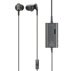 Audio-Technica ATH-ANC33IS QuietPoint Active Noise-Cancelling Earbuds