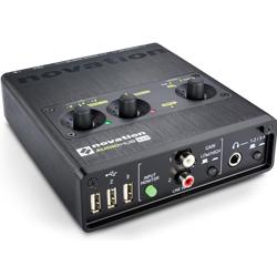 Novation AudioHub 2x4 Electronic Music Production Hub
