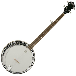 Washburn B11K Americana Series 5 String Banjo with Hardshell Case (Discontinued Clearance)