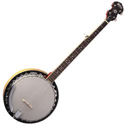 Washburn B9-WSH Americana Series 5 String Banjo (Discontinued Clearance)