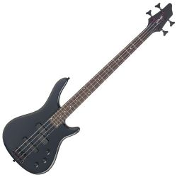 Stagg BC300-BK Fusion ¾ Size Electric Rt Handed 4 String Electric Bass Guitar in Black Finish