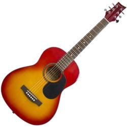 Beaver Creek BCTD601CB 3/4 Size Dreadnought 6 String RH Acoustic Guitar in Cherryburst Finish