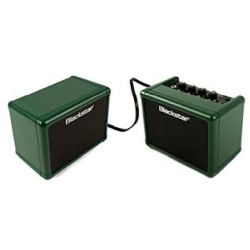 Blackstar Fly 3 Green Pak Battery-Powered Mini Guitar Amp, Extension Cabinet & Power Supply-Limited Edition Racing Green