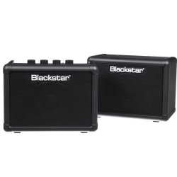 "Blackstar Fly3Pak 3-watt 1x3"" Combo Amp with Extension Speaker"