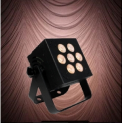 Blizzard HOTBOX INFINIWHITE-BLK LED Par Fixture with 3-In-1 Amber/Cool/Warm White