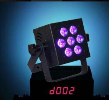 Blizzard HOTBOX 5-RGBVW LED PAR Wash Light