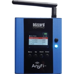 Blizzard LIGHTCASTER ANYFI 2.4GHz Wireless DMX Transceiver with Skywire
