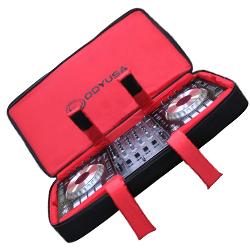 Odyssey BRLDIGITAL3XL Red Series Digital 3XL Triple Extra Large Digital Media Gear Bag fits Pioneer DDJ-SZ