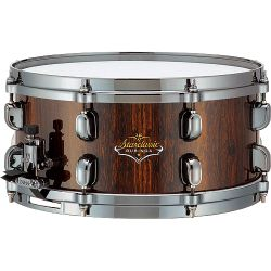 Tama BS1455SCB Starclassic Bubinga Elite Snare 5 ½ x14 inch in Scorched Copper Burst-Discontinued Clearance