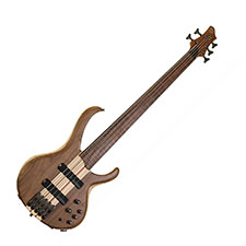 Ibanez BTB675F-NTF RH 5 String Fretless Natural Flat Finish Bass - Discontinued Clearance