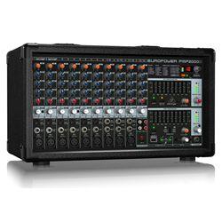 Behringer PMP2000D 2000W 14 Channel Powered Mixer with KLARK TEKNIK Multi-FX Processor