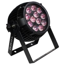 Blizzard COLORISE EXA (B) Black Casing 12 15W RGBAW+UV LEDs Par Fixture with AnyFi Wireless DMX