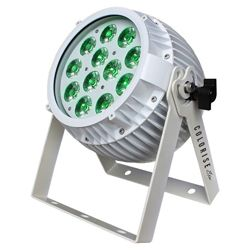 Blizzard COLORISE EXA (W) White Casing 12 15W RGBAW+UV LEDs Par Fixture with AnyFi Wireless DMX