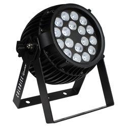 Blizzard COLORISE INFINIWHITE (B) Black Casing 18 5W Amber/White/Cool LEDs Par Fixture
