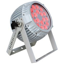 Blizzard COLORISE QUADRA (W) White Casing 18 10W RGBW LEDs Par Fixture with AnyFi Wireless DMX