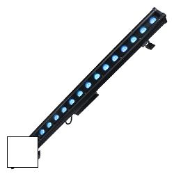 Blizzard MOTIFVIGNETTE (W) White Casing Outdoor Rated 18 10W RGBW LEDs in Linear Wash Light