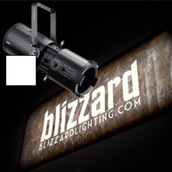 Blizzard OBERON PROFILE NZ (W) White Casing Narrow Zoom 200W COB LED Profile Light