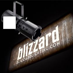 Blizzard OBERON PROFILE WZ (W) White Casing Wide Zoom 200W COB LED Profile Light