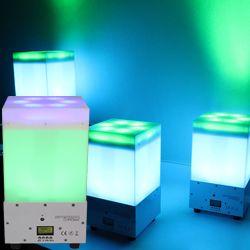 Blizzard SKYBOX CHROMA Dual Layered RGBAW+UV LED Light Box with Internal Battery and Wireless DMX