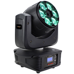 Blizzard STILETTO Z6 Mini 6 15W RGBW LED Moving Head Light Fixture