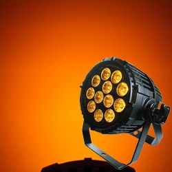 Blizzard TOUGHPAR V12 Outdoor Rated 12 15W RGBAW LED Par Light