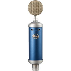 Blue Microphones Bluebird SL Large Diameter Cardioid Condenser Studio Microphone with Shockmount Pop Filter and Storage Box