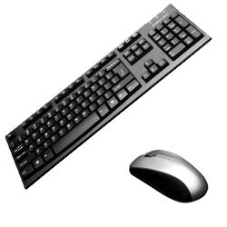 BlueDiamond 36232 Wireless Pro Keyboard and Mouse Combo