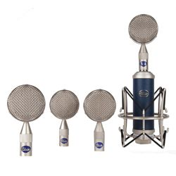 Blue Microphones Bottle RS1 ML Bottle Rocket Mic Locker Class A Discrete Solid State Mic with Interchangeable Capsule System