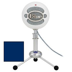 Blue Microphones Snowball Studio ELECTRIC BLUE USB Microphone in Electric Blue with Studio One Artist