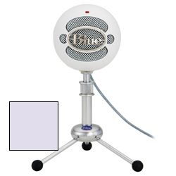 Blue Microphones Snowball Studio ICE USB Microphone in Cool White with Studio One Artist Recording software