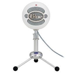 Blue Microphones Snowball Studio WHITE USB Microphone in White with Studio One Artist Recording software