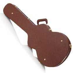 Boblen HSJ-BR Jumbo Hardshell Case for Acoustic Guitars in Brown
