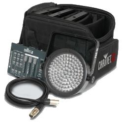 Chauvet DJ SLIMPACK56LT GB LED Light Kit with Bag and Cables (4-Pack)