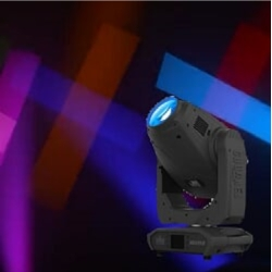 Chauvet Pro MAVERICK-MK2-PROFILE High Powered LED Yoke Profile with 4 Blade Framing Shutter System
