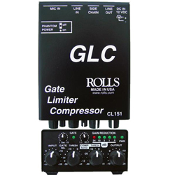 Rolls CL151 Gate Limiter Compressor and Microphone Preamp