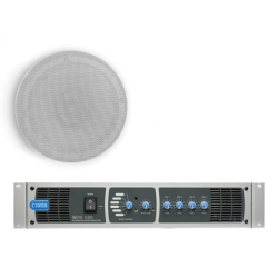 Cloud MPA120-SP System Package with 120W MPA120 Mixer/Amplifier and 6 x CSC6 In Ceiling Speakers