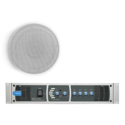 Cloud MPA240-SP System Package with General Purpose 240W Mixer/Amplifier and 8 x  CS-C6 Mounted Speaker