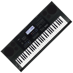 Casio CTK6200 61 Key Piano Style Portable Keyboard with AC Adaptor (discontinued clearance)