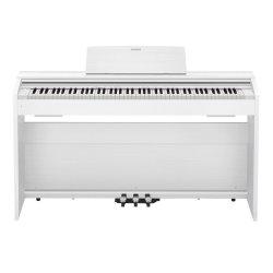 Casio PX870WE Privia 88-Key Digital Piano (White)